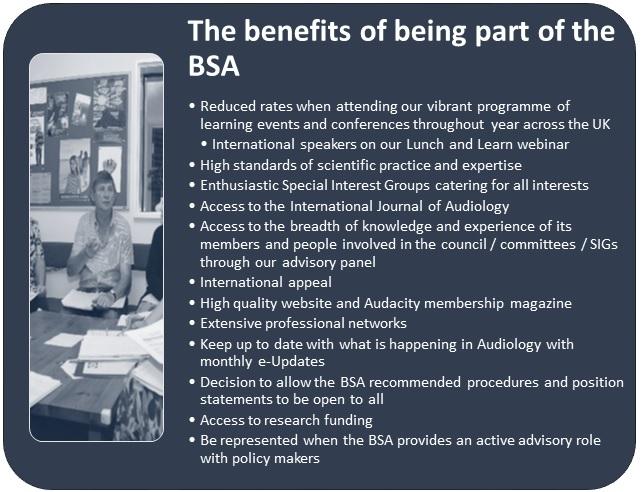 Benefits of the BSA
