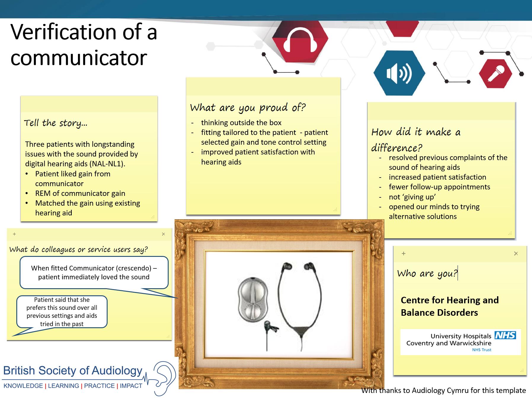 audiology practice case studies